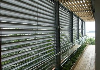 external venetian blinds, external aluminium blinds, external venetian louvres blinds, external venetian blinds showroom